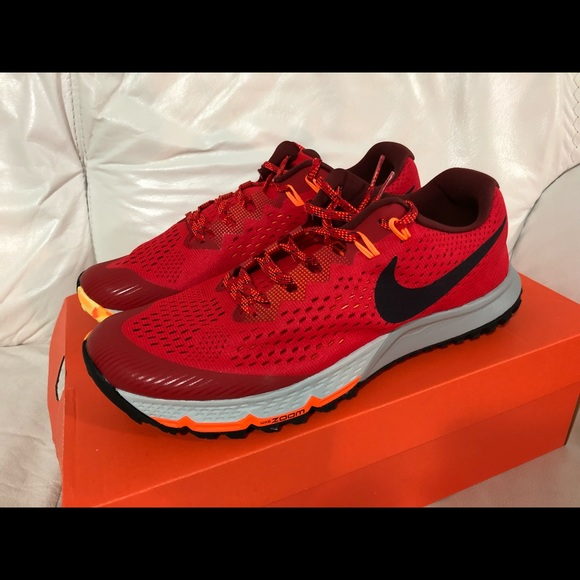 38730d128ad Nike Air Zoom Terra Kiger 4 Red Port Wine Size 10